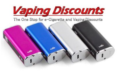 November 30, 20W eLeaf iStick $30.99 Your Choice of Eleaf iStick 20W E-cigarette Mod  The eLeaf iStick 20W is an newly launched variable voltage &a