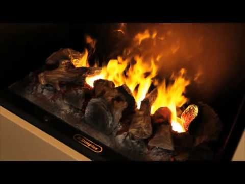 ▶ Dimplex Moorefield -- Opti-myst 3D electric fireplace suite - YouTube