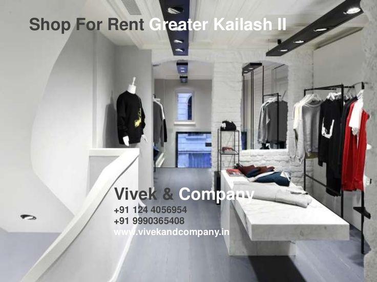 Shop for Rent Greater Kailash II South Delhi by vivek bhaskar via slideshare