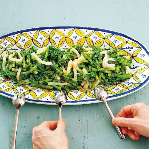 菜の花とイカのごま風味サラダ|レシピ|ゆとりの空間オフィシャルサイト