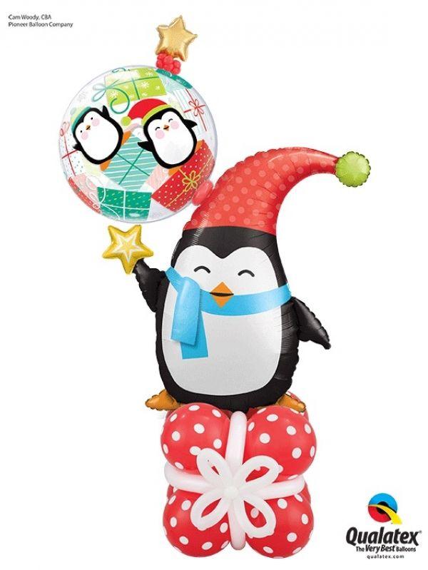 Adorable Penguin balloon gift idea!