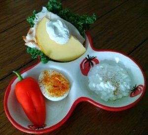 1000 idées sur le thème Petit Déjeuner Fromage Cottage sur ...