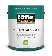 bathrooms - BEHR PREMIUM PLUS® Interior Semi-Gloss Enamel Paint | Behr