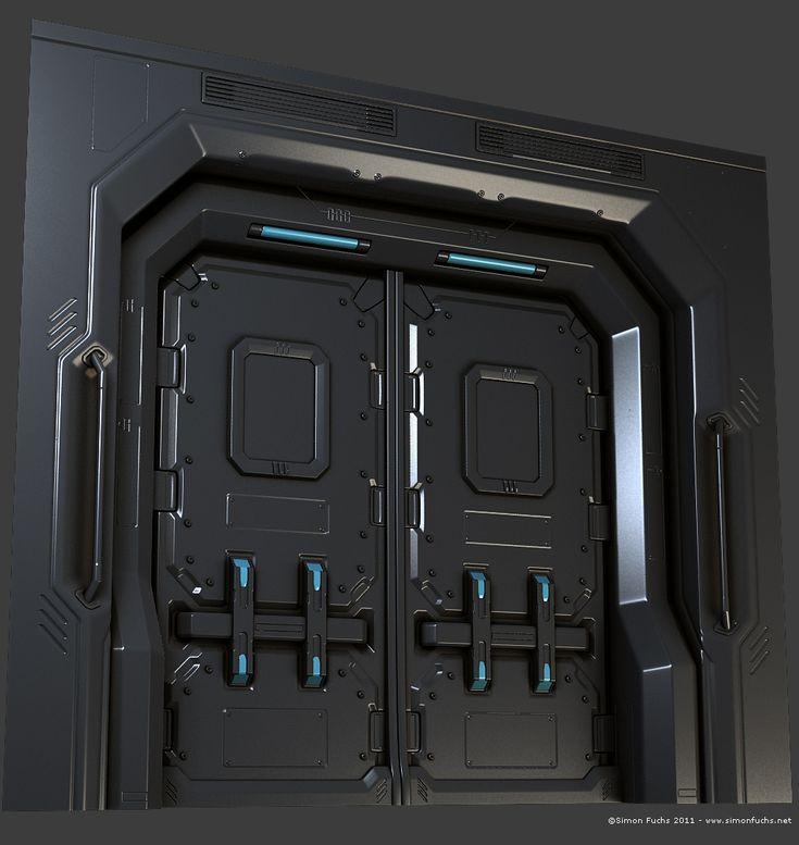 Mejores 21 im genes de sci fi doors en pinterest ciencia for Puerta nave espacial