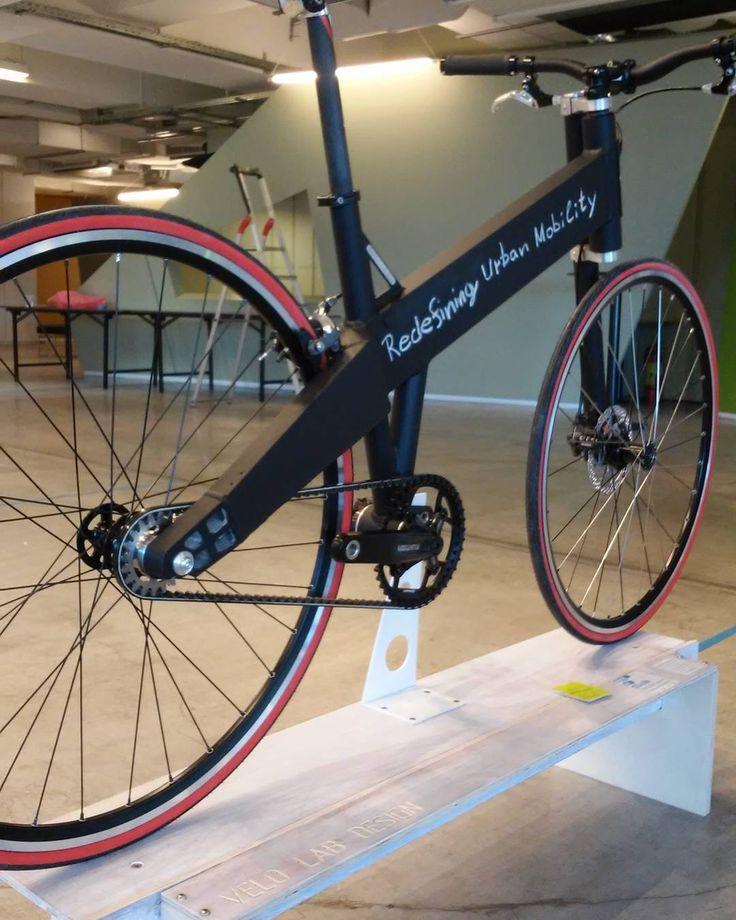Blackboard bicycle- Velo Lab Athens