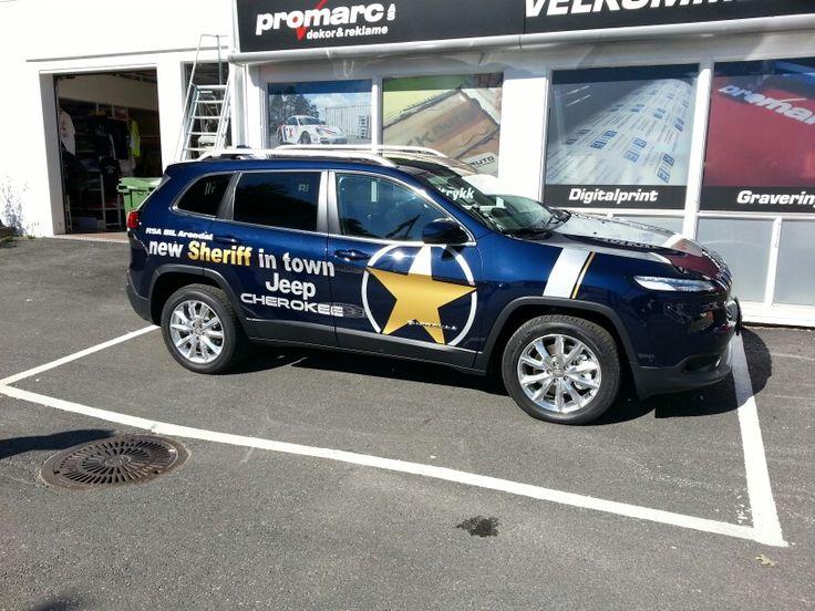 Bildekor NY demobil for RSA Bil Arendal