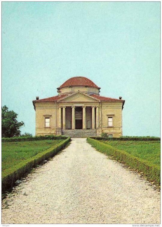 Vincenzo Scamozzi.  Villa La Rocca Pisana, c. 1576.  Lonigo, IT.