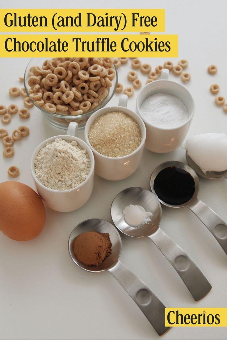 Dairy-Free and Gluten-Free Cheerios Chocolate Truffle Recipe