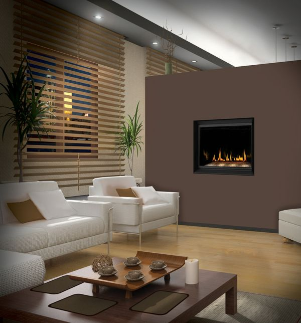 napoleon crystallo gas modern fireplace