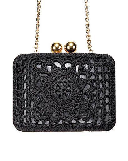 Dolce  Gabbana crochet clutch