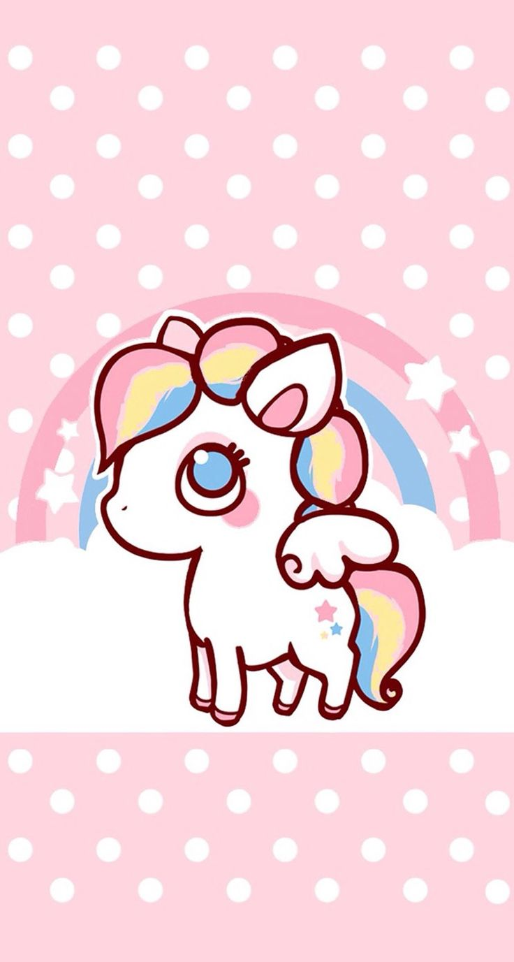 My new favorite wallpaper. Look at it. LOOK AT IT!! #rainbow #unicorn #cute #pastels #wallpaper #background #iphone #sony #apple #samsung