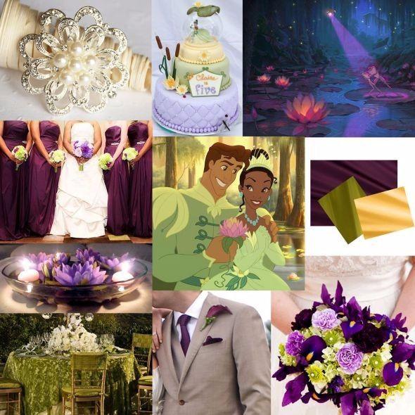 """Matrimonio e decorazioni a tema """"La principessa e il ranocchio"""""""