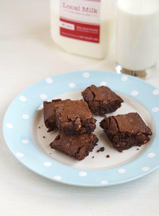 Katharine Hepburn's Brownies (possibly the best brownies ever!)