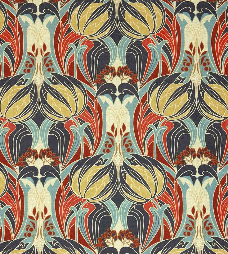 Kate Nouveau Fabric by Liberty Art Fabrics   Jane Clayton