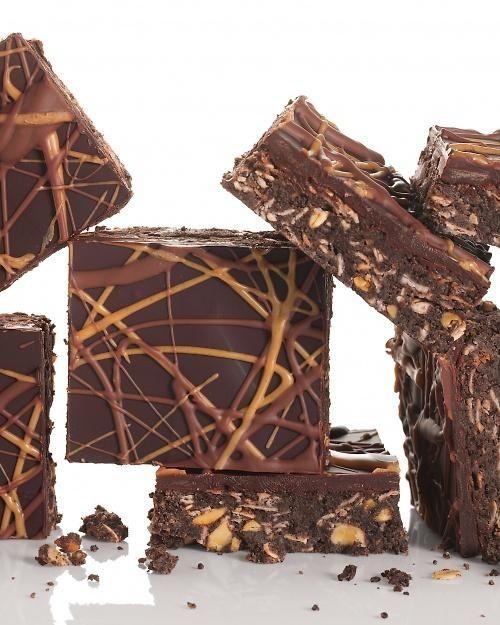 No-Bake Chocolate and Peanut Butter Oatmeal Bars Recipe