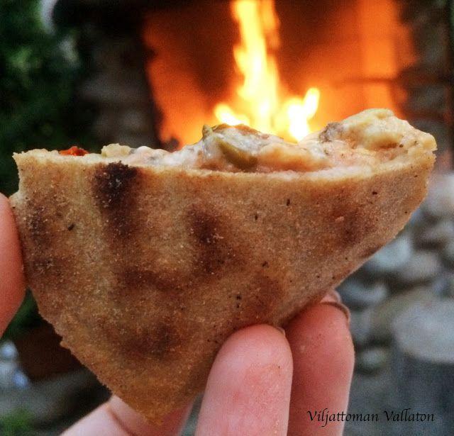 Viljattoman Vallaton: Gluteeniton pizza