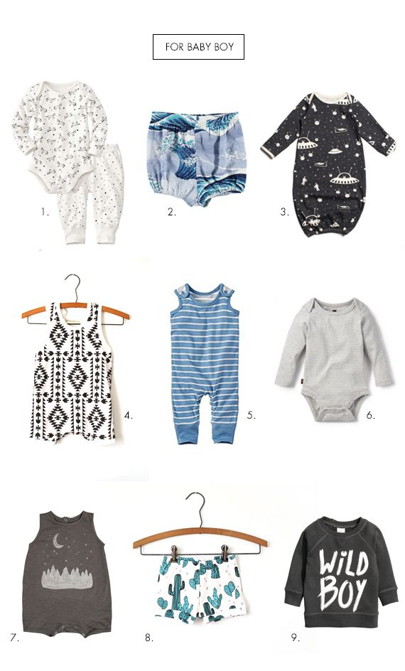 Baby boy must haves