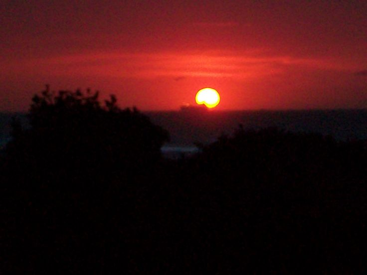 Sunrise in Amanzimtoti