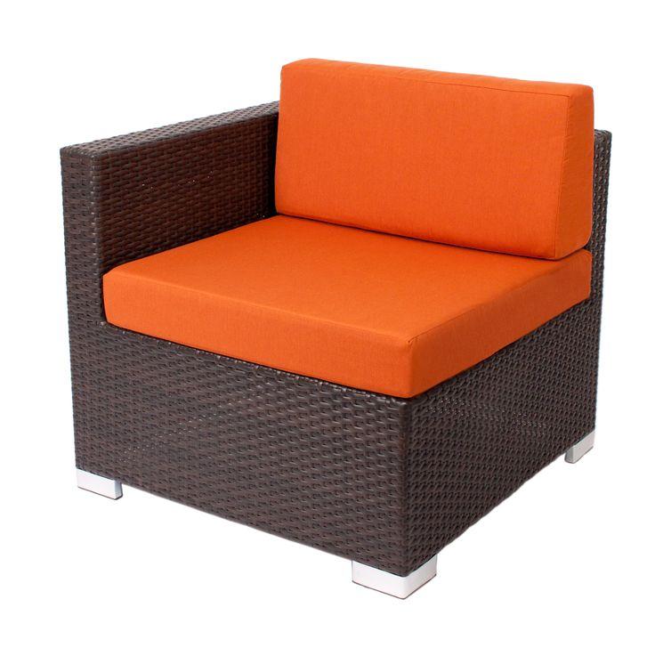 """""""Aruba"""" lounge furniture #sidepiece #RestaurantFurniture #restaurant #hospitality #sofa #ModularFurniture #LoungeFurniture #OutdoorFurniture #design #wicker #aluminum #outdoor"""