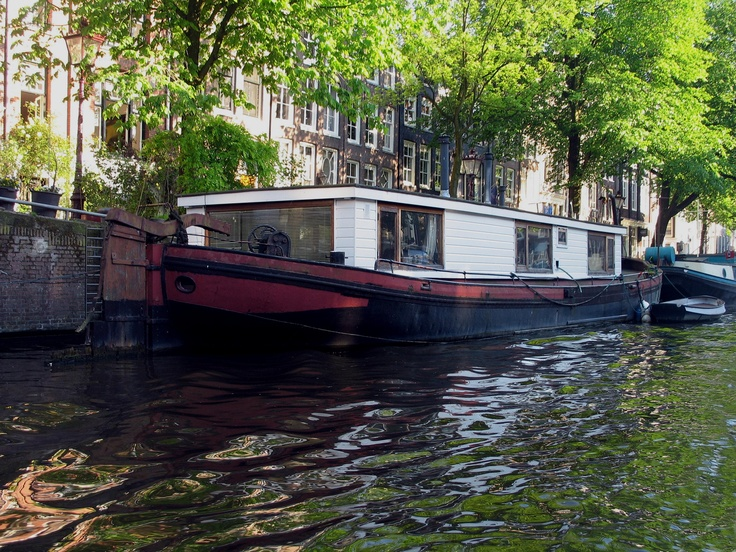 Canal Houseboat, Amsterdam, Netherlands  2012 / by Marny Perry