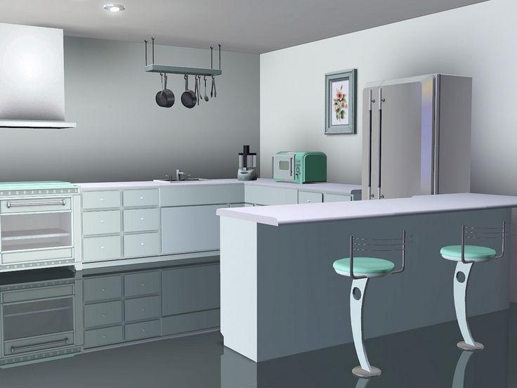 Pastel Kitchen by Flowarin