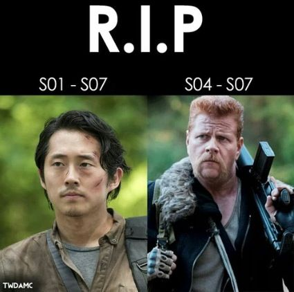 RIP ~ The Walking Dead ~ Glenn & Abraham