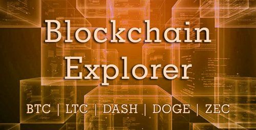 CodeCanyon - Blockchain Explorer v1 1 0 - Bitcoin, Litecoin