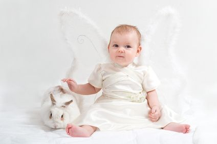 How to Make a Children's Angel Costume
