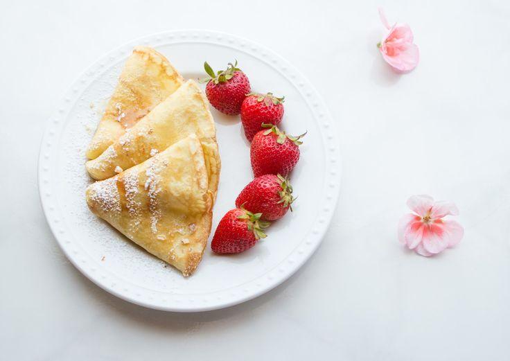 Sunday Brunch Recipe Swedish Strawberry Pancakes Recipe