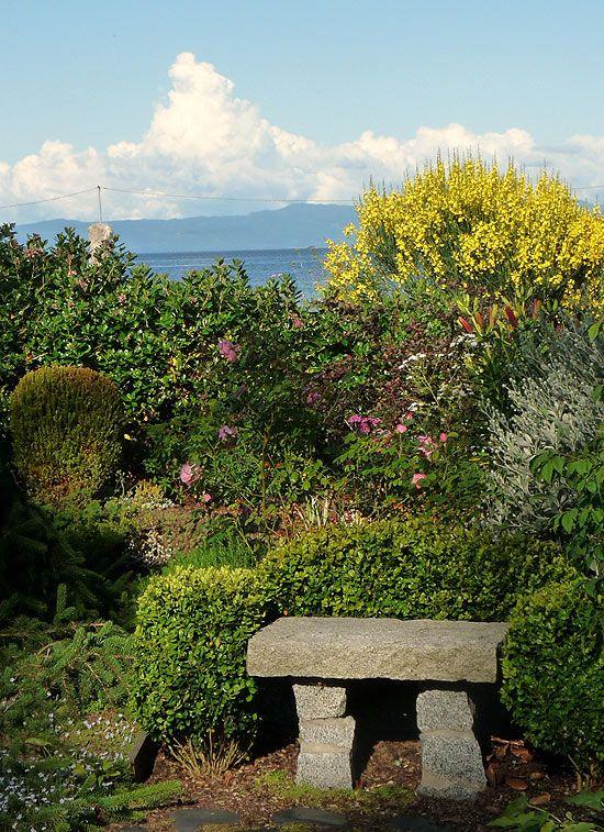 A beautiful view from the 2013 Denman Island Home & Garden tour