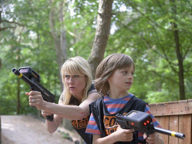 Maak je klaar voor de strijd! Tijdens de Outdoor Family Laser Battle!