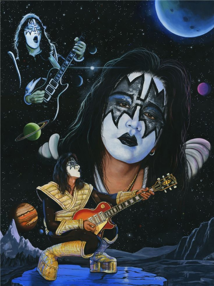 17 best images about kiss art on pinterest canvas prints peter criss and poster prints. Black Bedroom Furniture Sets. Home Design Ideas