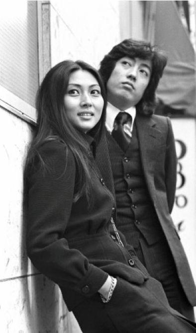 Kaji Meiko & Sawada Kenji in Dousei Jidai 同棲時代 (Cohabitation Era) February 1973