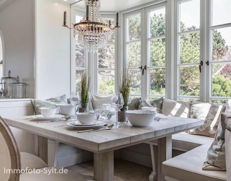 Die besten 25+ Küchendesign sylt Ideen auf Pinterest Fenster - esszimmer landhausstil