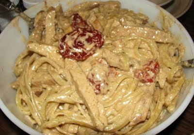 What's That Buzz: Cajun Chicken Alfredo from Guy Fieri Food: Cookin' It, Livin' It, Lovin' It