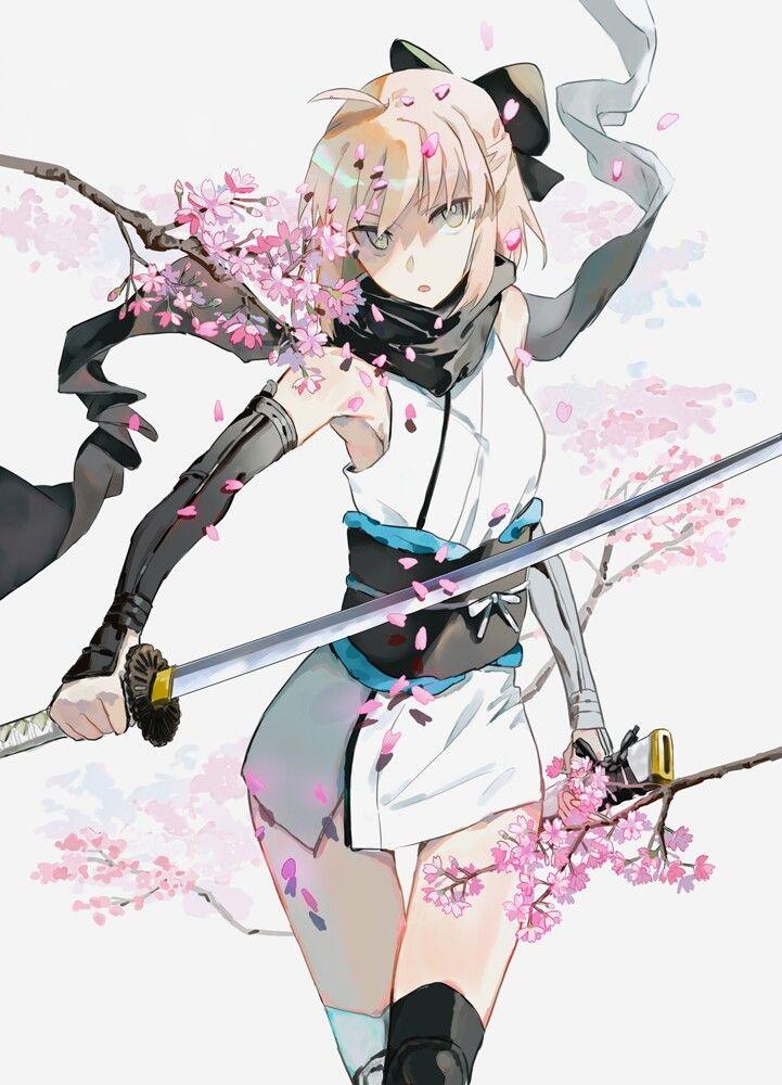 Sakura Saber (Souji Okita)