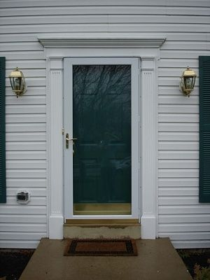 1000 Ideas About Exterior Door Trim On Pinterest
