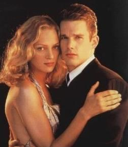 """a review of andrew niccols movie gattaca starring ethan hawke and uma thurman Gattaca, a 1997 film starring ethan hawke, jude law, and uma thurman, tells a  thrilling tale set in the """"not too distant future"""" as the opening."""