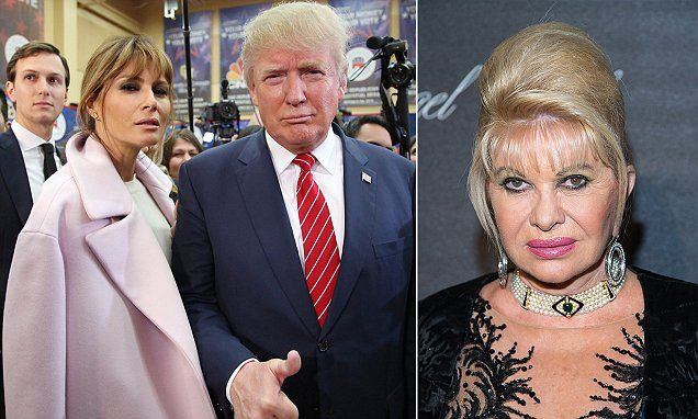 Donald Trump's ex-wife Ivana slams his current spouse Melania