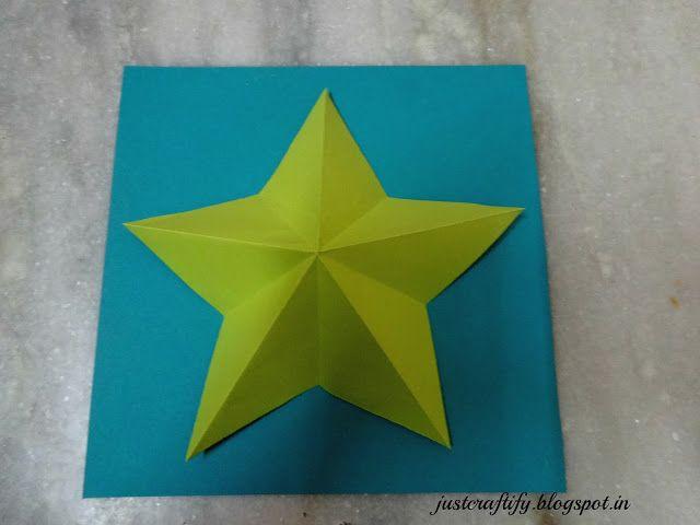 Make your own Christmas star