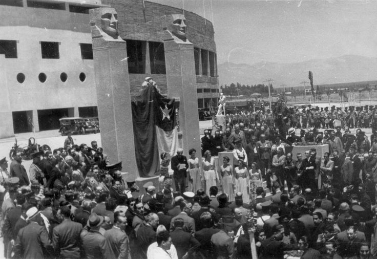 Inauguración Estadio Nacional de Santiago de Chile, 1938