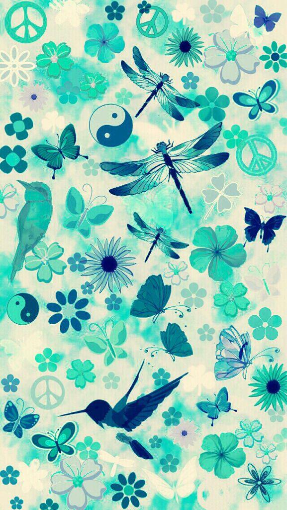 Fondo de pantalla de insectos y más... Muy verde :) / wallpaper of insects and more... A lot of green :)