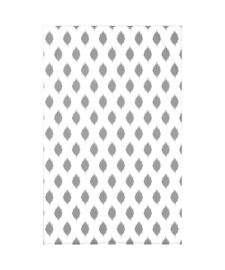 Cop-Ikat Polyester Fleece Throw Blanket
