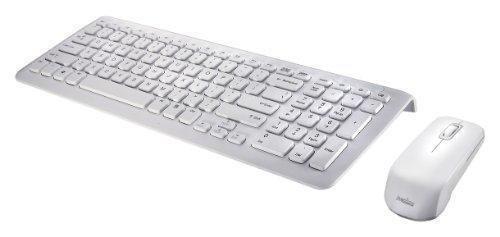 Oferta: 34.99€ Dto: -30%. Comprar Ofertas de PERIDUO-710W ES, Pack de teclado y ratón inálambrico elegante - color piano blanco - 389x142x25mm - 2.4G - Teclas de tipo chi barato. ¡Mira las ofertas!