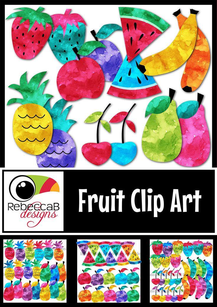 Fruit Clip Art contains 70 watercolour images with 7 different fruits in 10 different colour combinations. Use these clip art images to create back to school posters, classroom banners/decor, posters, fun activities, worksheets, lesson plans and other teaching resources! 70 images for $3.50!