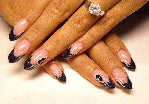 Acrylic Nail Designs For Fall - http://nailarting.com/acrylic-nail-designs-for-fall/