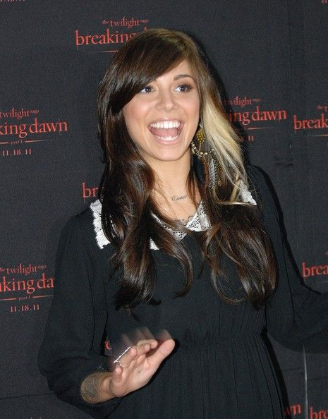 "christina perri | Christina Perri Christina Perry attends ""The Twilight Saga: Breaking ..."