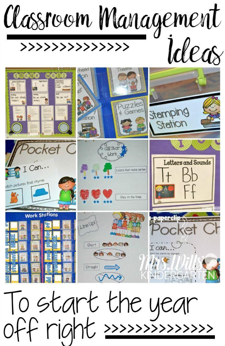 Classroom Management Ideas ~ Best kindergarten classroom management ideas on