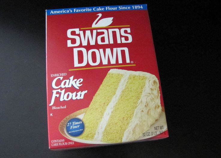 Swans Down Cake Flour, 2 pound boxes available in the flour section of the Ralph's baking aisle $3. Description from smellslikefoodinhere.blogspot.com. I searched for this on bing.com/images