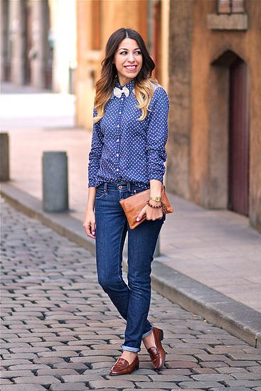 because girls can totally rock the bow tie #streetstyle